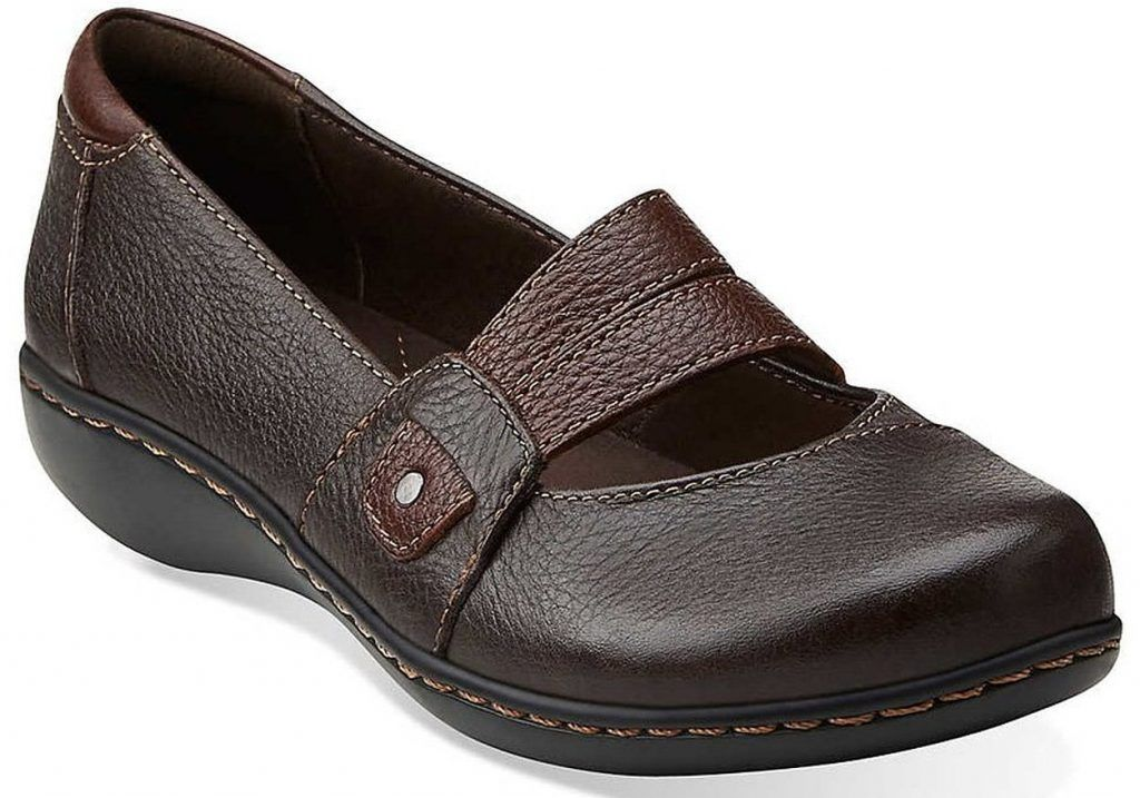 womens clark ashland twist slip on