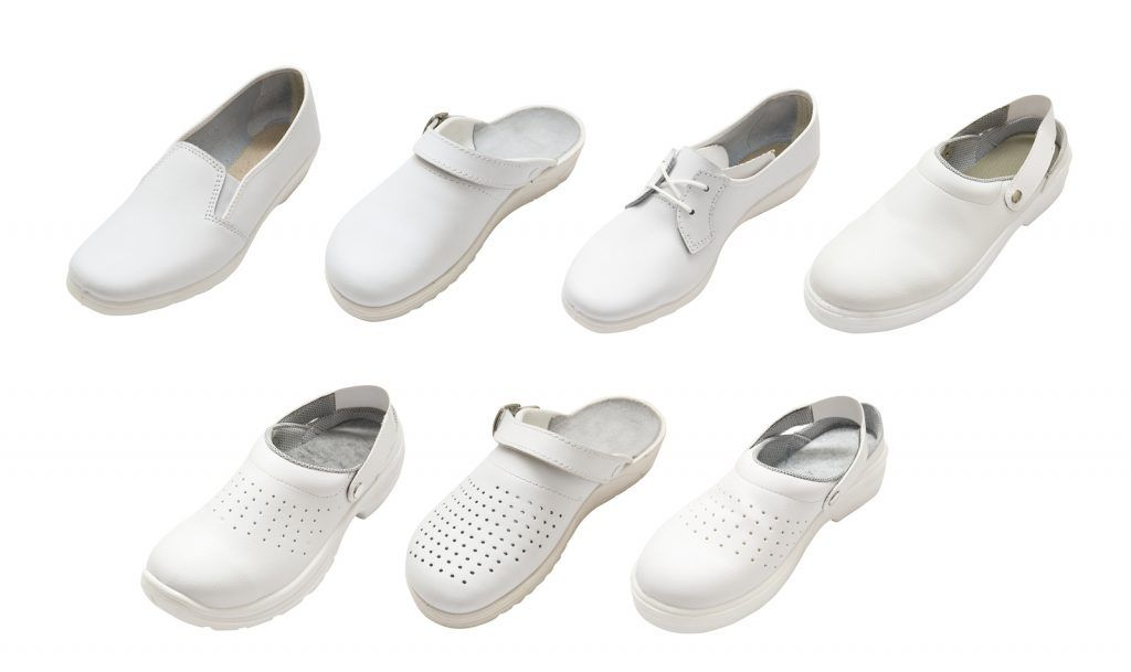 types of nursing shoes