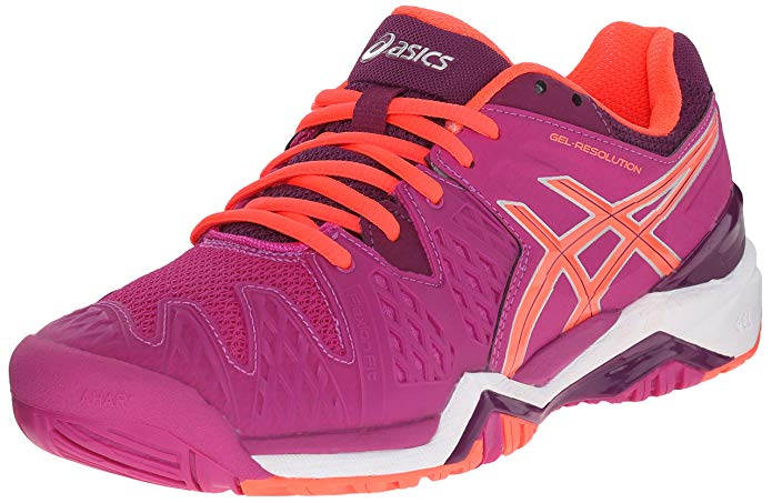 ASICS Gel Resolution 6 Tennis Shoes (Women's)