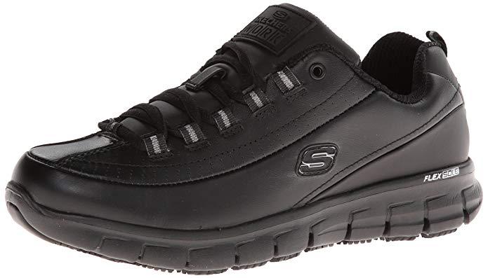 Skechers Women's Sure Track Trickel Slip-Resistant Work Shoes