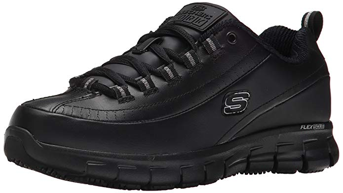 Skechers Work Sure Track Trickel Slip-Resistant Shoe (Women's)