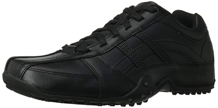 Skechers for Work Men's Rockland Systemic Slip Resistant Lace-Up Shoe