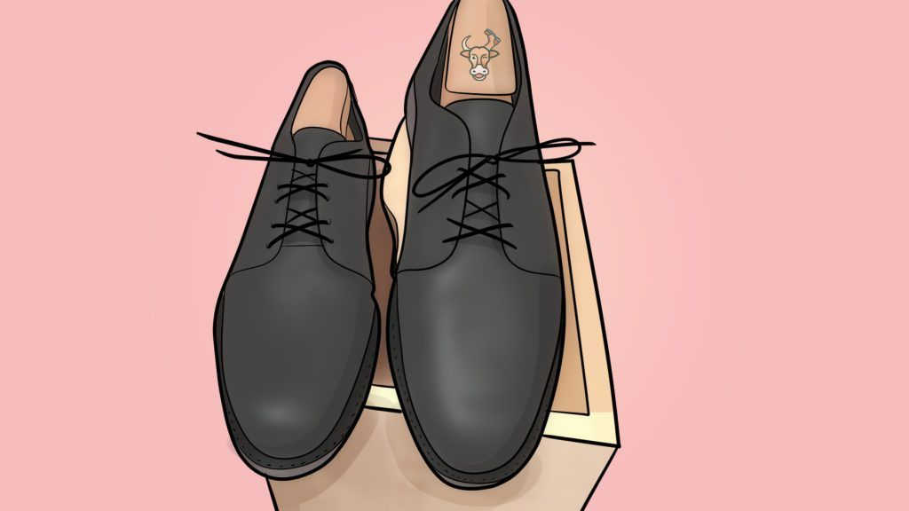 over-under lacing dress shoes