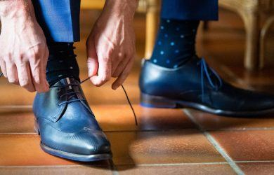 how to lace your dress shoes